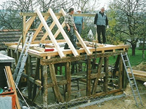 Gartenhaus Altholz eichenherz spezielles
